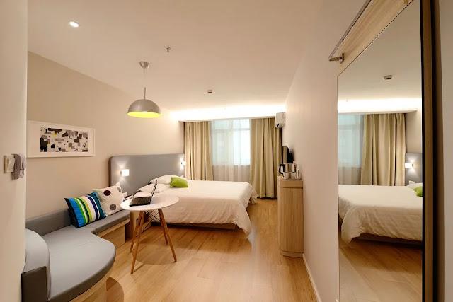 design kamar hotel bersih