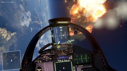 Project Wingman cockpit view