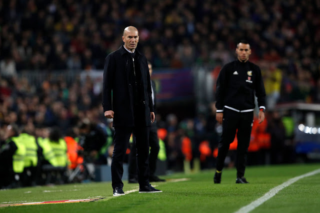 The result isn't good enough for me - Zinedine Zidane, Zidane at the El Clasico, Madrid Manager, El Clasico