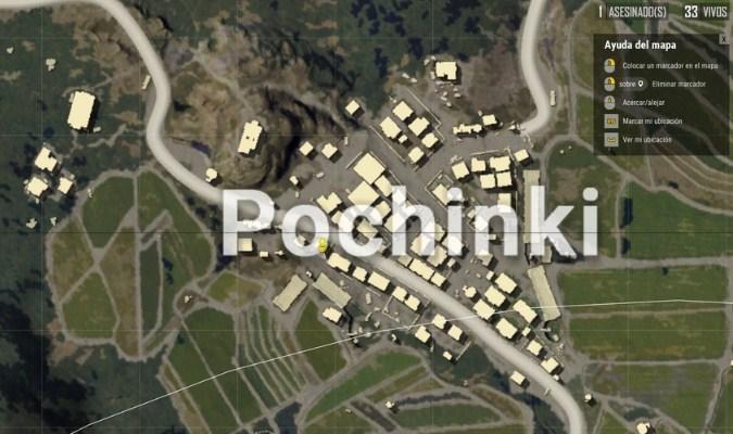 Lokasi Loot Terbaik di Erangel Map PUBG Mobile - Pochinki