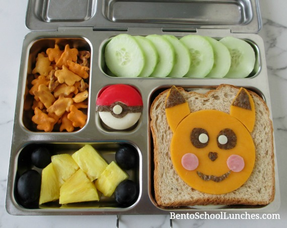 Pikachu Pokemon Go Bento