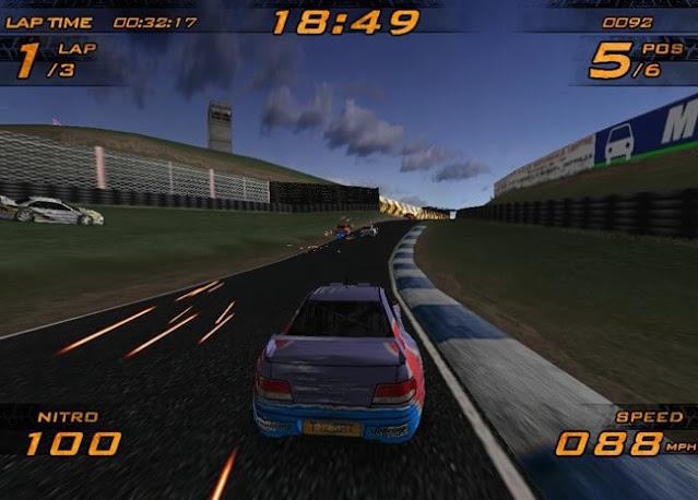 تحميل لعبة سباق سيارات نيترو Ultra Nitro Racers للكمبيوتر برابط مباشر