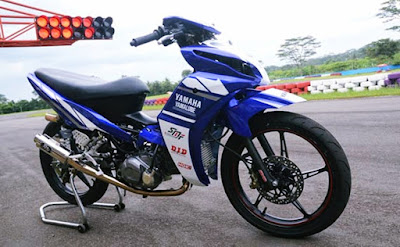 Modifikasi motor Jupiter Z Balap