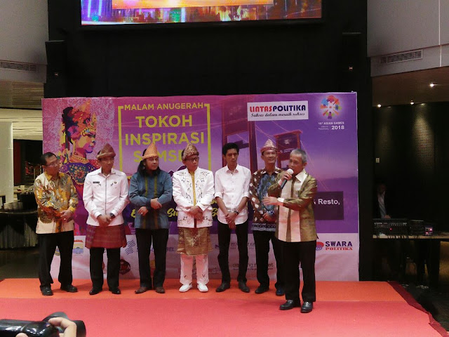 H Iskandar SE Percepat Perubahan di Sumsel