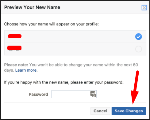 How To Put Only Your First Name On Facebook