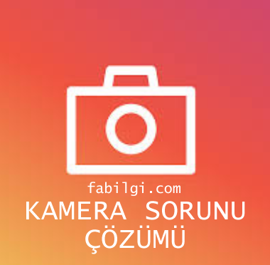 Instagram Kamera Kasma Sorunu Çözümü Kesin Yöntem 2021