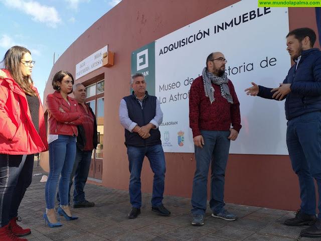 Zapata visitó Garafía el pasado miércoles