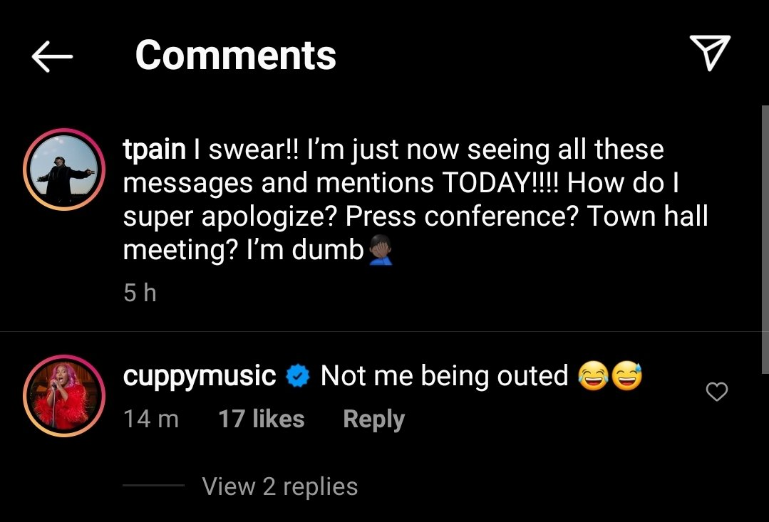American Rapper T-Pain Expose Your Favorite Celebs Who Comes to His Inbox For This Reason, Juliet Ibrahims Own Will Shock You.