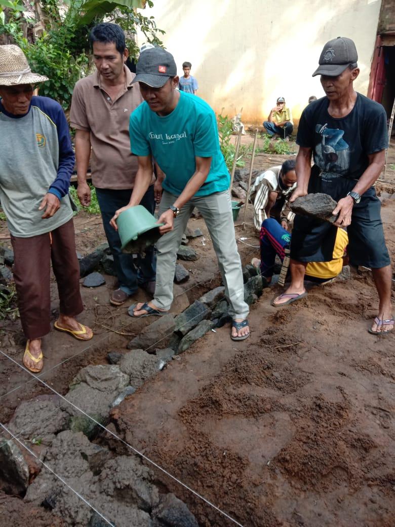 Rasa Kemanusian Kembali koperasi Beuti Kamal Sejahtera Membangun RTLH Di Desa Sukadame Kecamatan Pagelaran