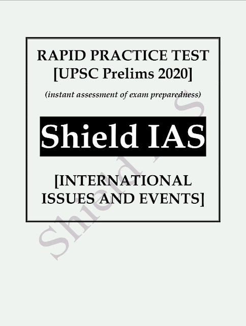 Rapid Pratice Test International Issues And Events 2020 : For UPSC Exam PDF Book