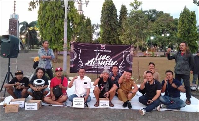 Galang Dana Rumah Singgah, KPJ Ciamis Gelar Live Acustic