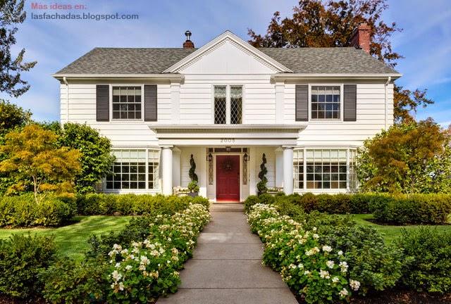 Fachadas de casas cl sicas fachadas de casas y casas por for Fachadas de casas clasicas modernas