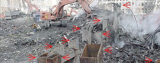 Escombros misteriosos do WTC