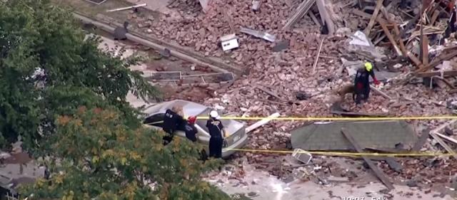 Explosión destruye edificio residencial en Denver