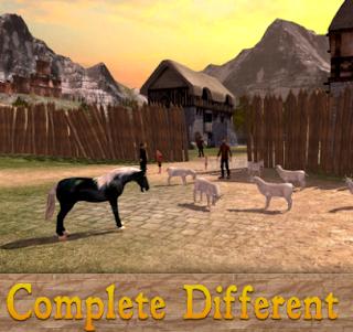 Family Horse Simulator