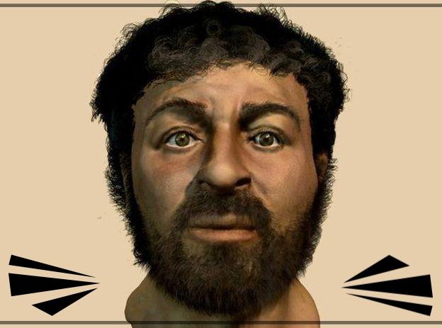 O verdadeiro rosto de Jesus revelado