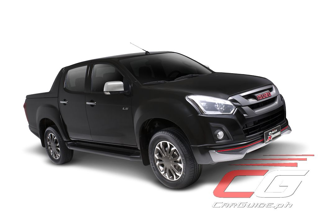 isuzu philippines launches 2017 d max x series w 23. Black Bedroom Furniture Sets. Home Design Ideas