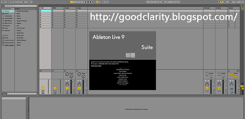 Ableton live patch io