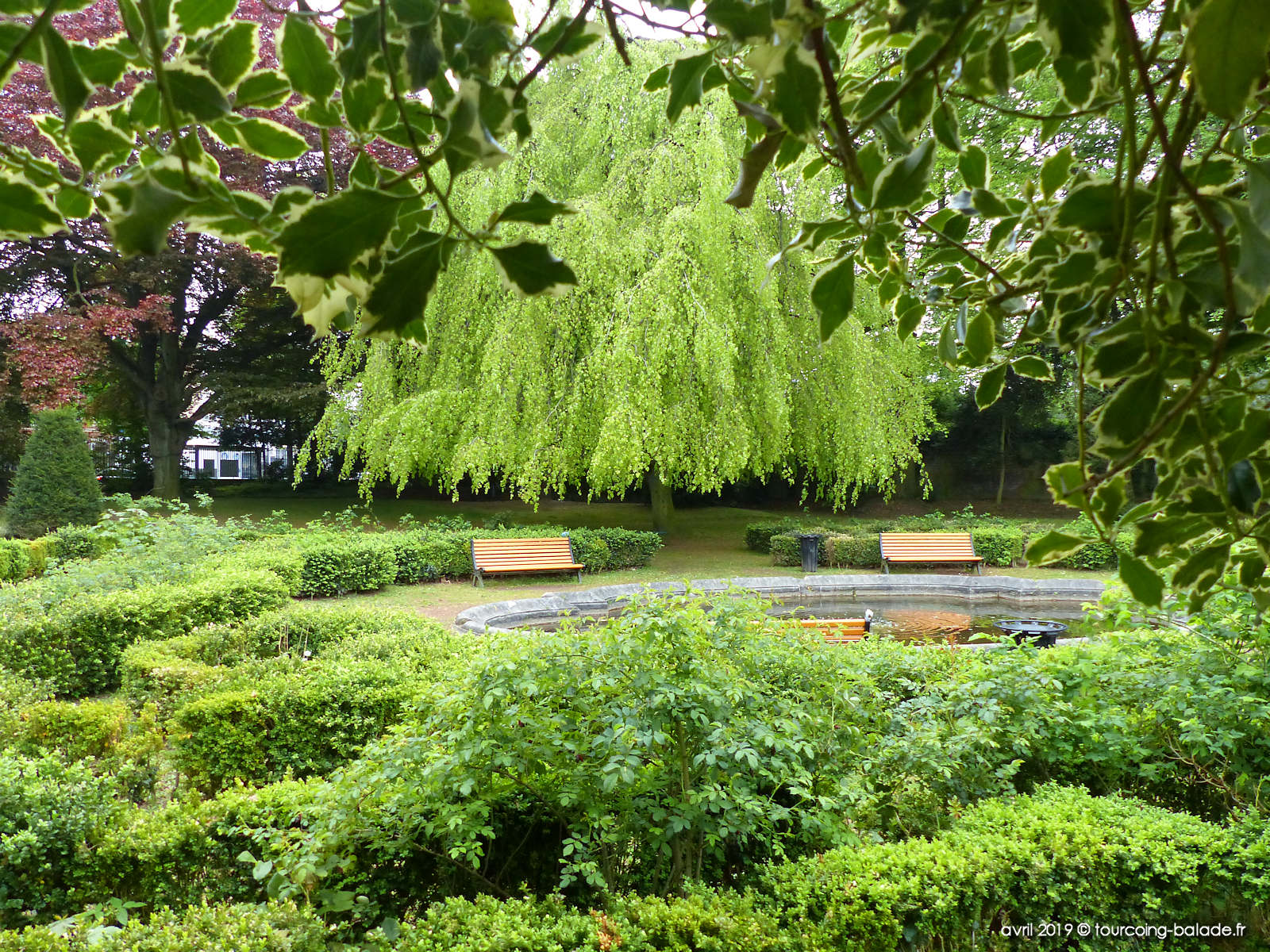 Parcs et Jardins Tourcoing - Jardin public Gambetta, 2019.