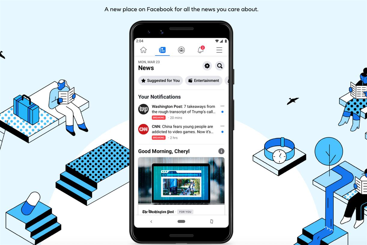 facebook new service 2020