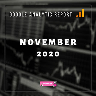 GOOGLE ANALYTIC REPORT NOVEMBER 2020
