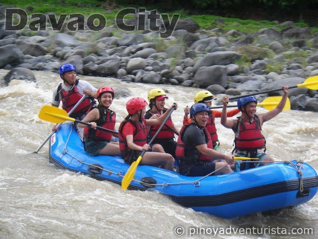 Whitewater Rafting in Davao City