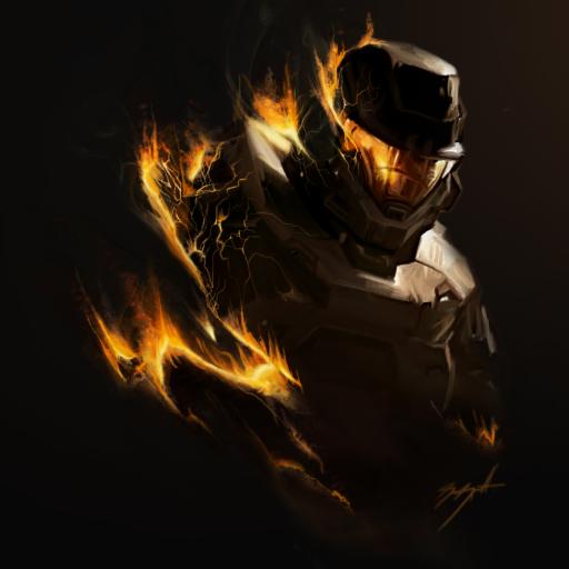 Halo - Spartan En Flammes - Avatar en HD