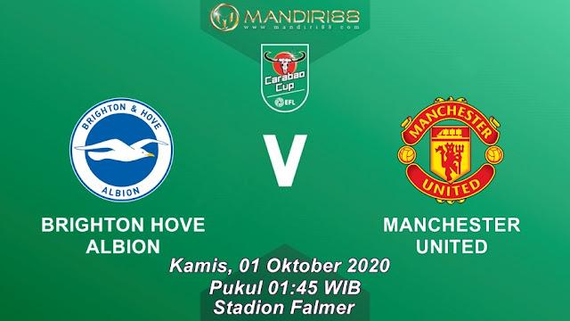Prediksi Brighton Hove Albion Vs Manchester United, Kamis 01 Oktober 2020 Pukul 01.45 WIB @ Mola TV