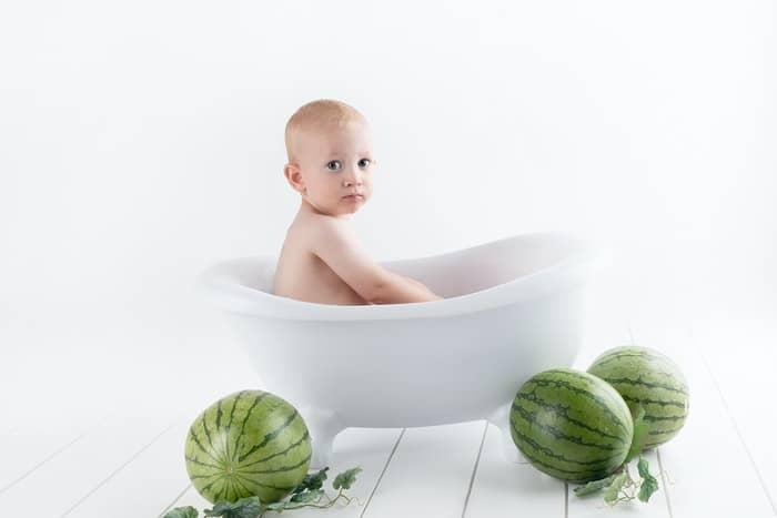 bolehkan bayi mandi terlalu lama?