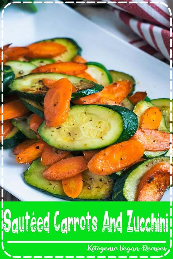 Sautéed Carrots And Zucchini - Kitchen Faye