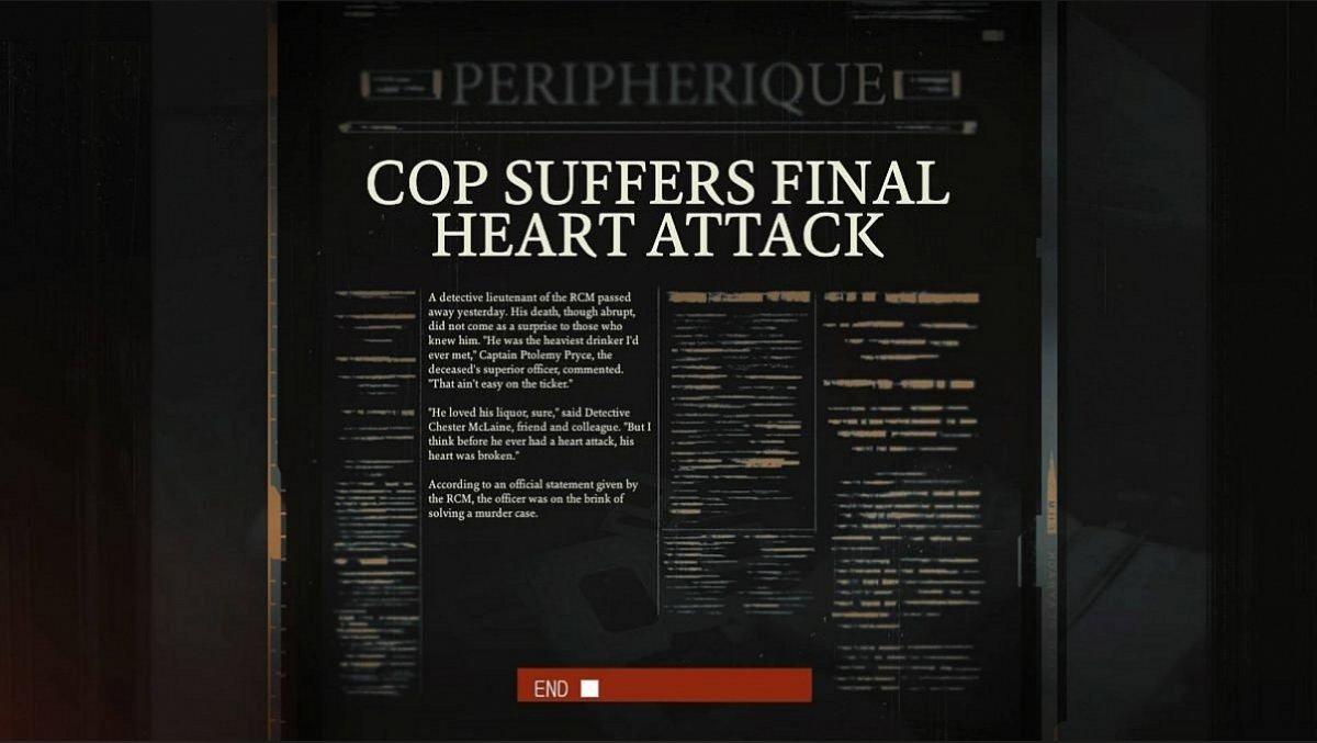 Cop Suffers Final Heart Attack