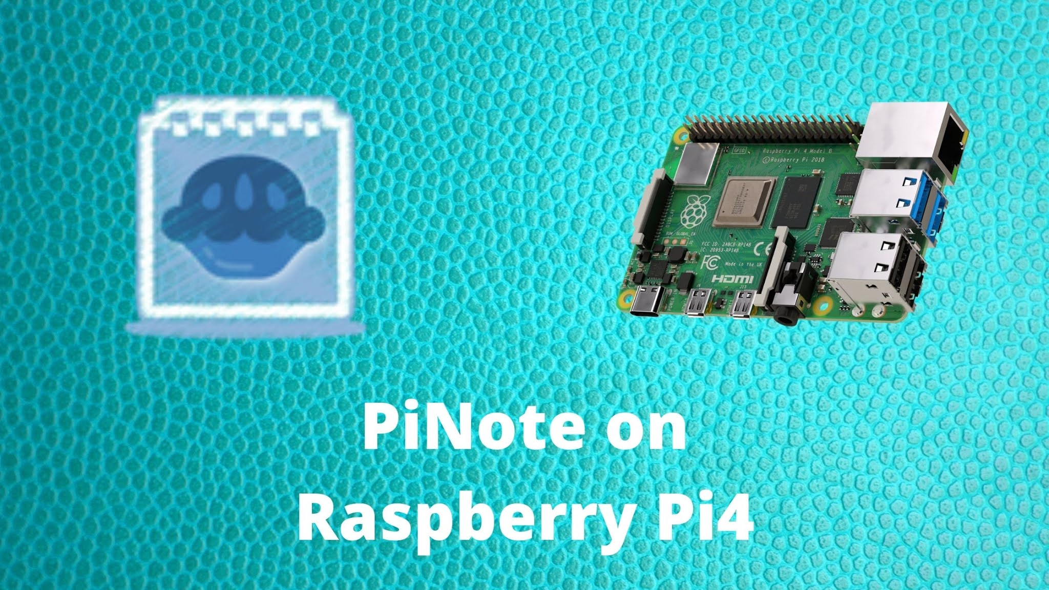 PiNote - a Visual Studio Code alternative for Raspberry Pi 4
