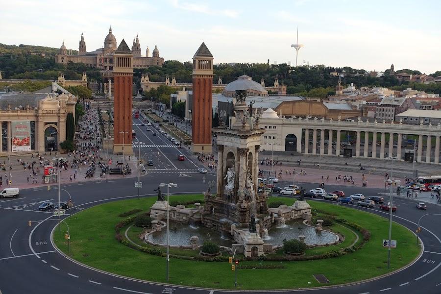 スペイン広場(Plaça d'Espanya)