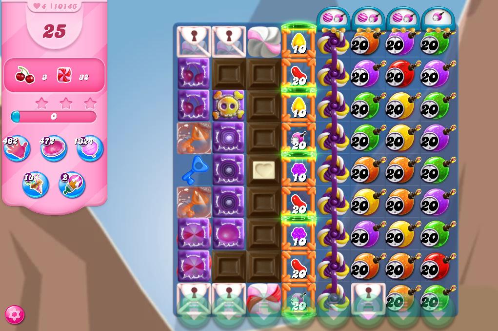 Candy Crush Saga level 10146