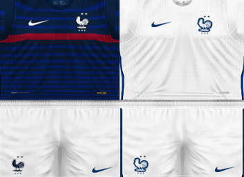 Update Kits France EURO PES 6 Home and Away 2020-2021
