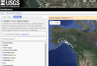 USGS Earth Explorer