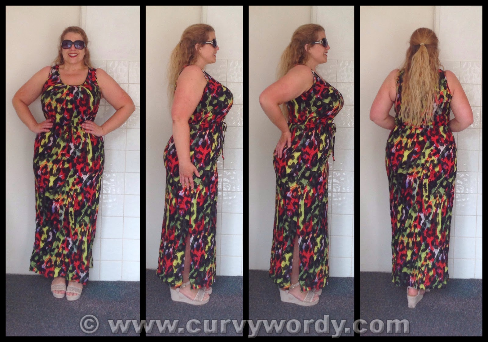 20a0e8b3a I very rarely bare my legs so it came as a surprise to me when I found  myself adding the Animal Print Maxi Dress (£12.00, sizes 8-24) to my online  basket.