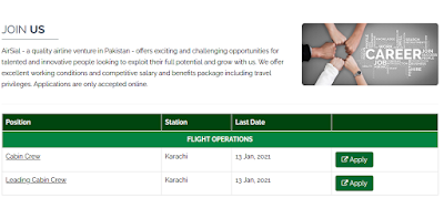 AirSial Jobs 2021 - Latest AirSial Jobs January 2021 Apply Online
