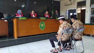 PN Kota Cirebon Vonis Acil Dan Nanan Pembunuh Santri
