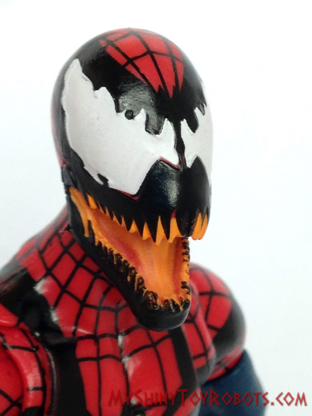 My shiny toy robots toybox review marvel legends spider - Spider carnage ben reilly ...