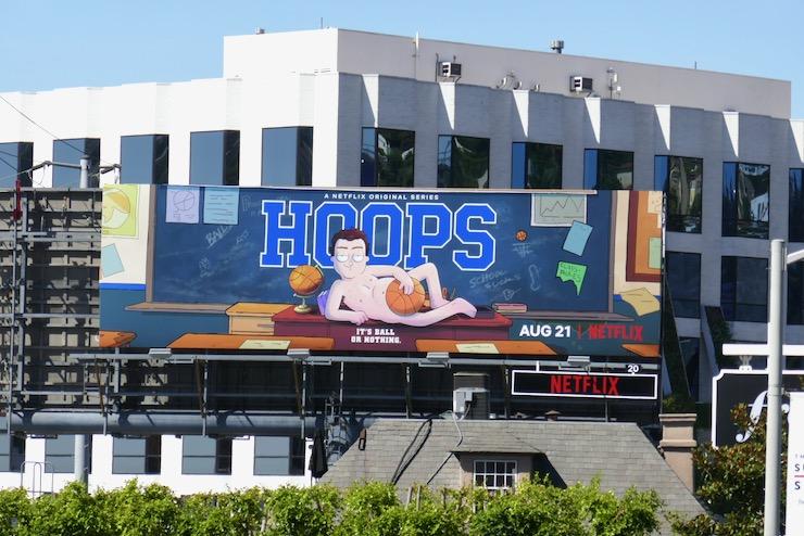 Hoops series premiere billboard