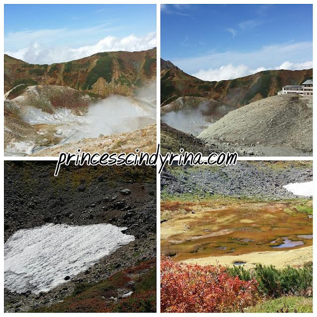 volcano smoke and ice