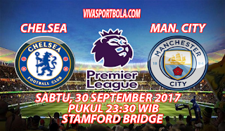 Prediksi Chelsea vs Manchester City 30 September 2017