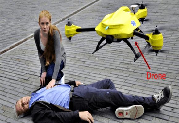 Drone-socorro
