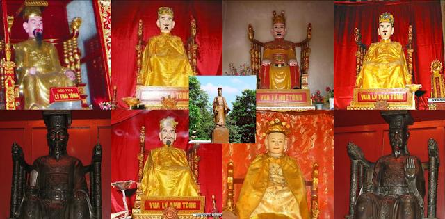 9 vị vua triều đại nhà Lý