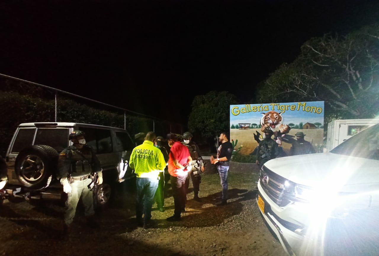 hoyennoticia.com, 400 personas estaban en una fiesta clandestina cerca de Maicao