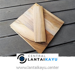 harga lantai kayu Jati Grade C 20 cm