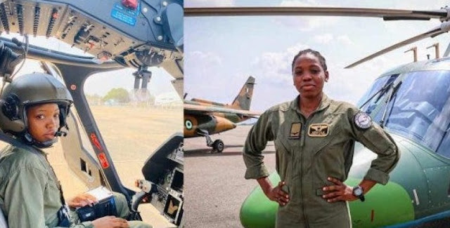 Nigerian First Female Combatant Helicopter Pilot Dies Eight Months After Special Recognition