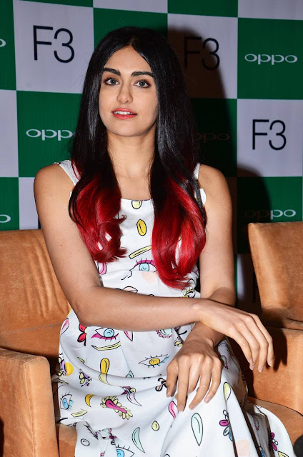 Adah Sharma Stills At The First Sale of OPPO F3 Inauguration