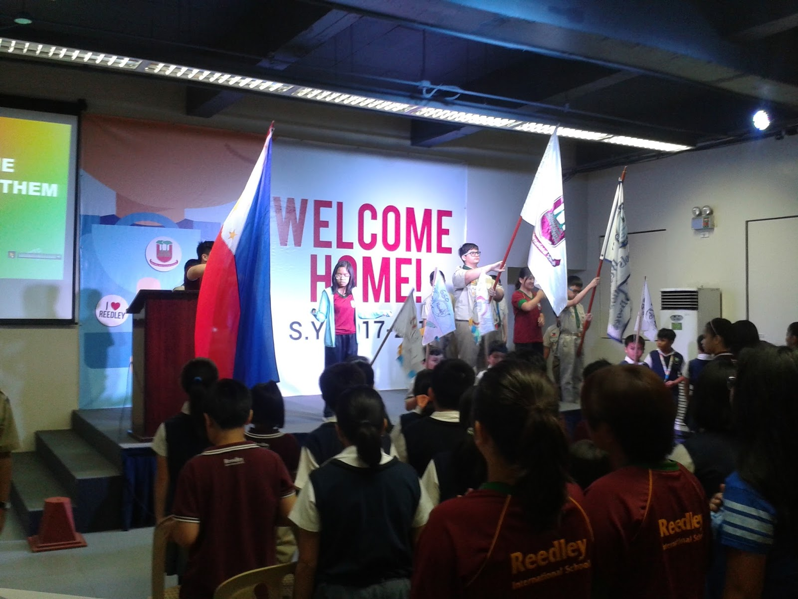 morning assembly Morning assembly to start the day shadowing a wiser girl to see what a day in the life of a student feels like.